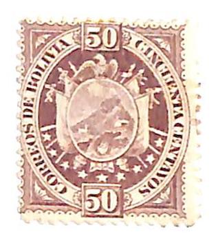 1894 Bolivia