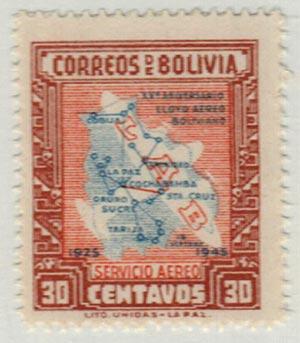 1945 Bolivia