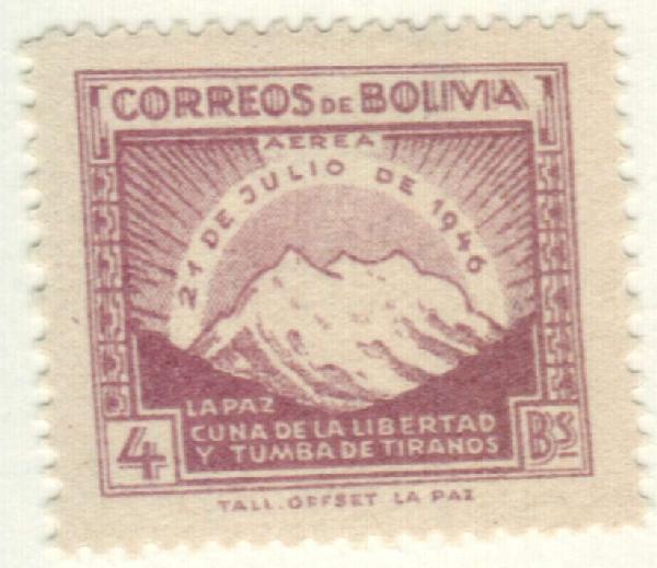 1947 Bolivia