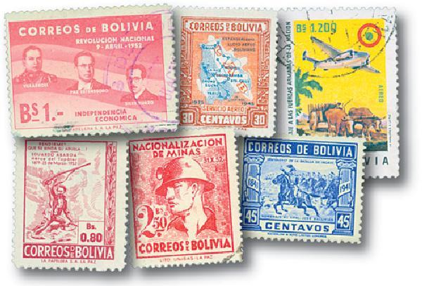 Bolivia, 25v
