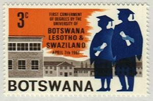 1967 Botswana