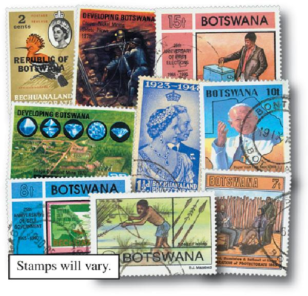 Botswana, set of 100