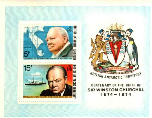 1974 British Antarctic Territory