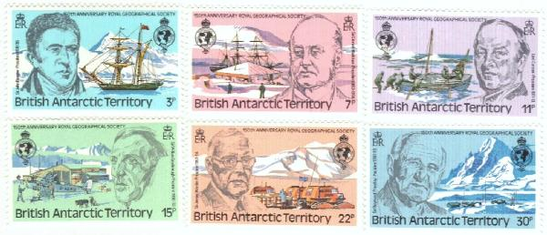 1980 British Antarctic Territory