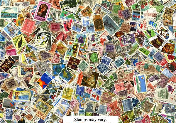 British Empire 2000 stamps used