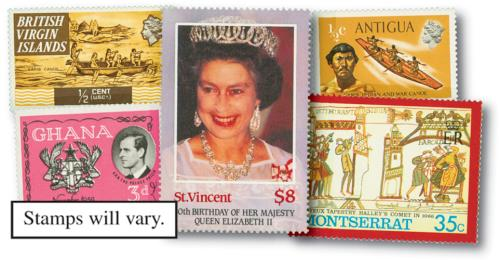 British Empire complete sets, 2000v