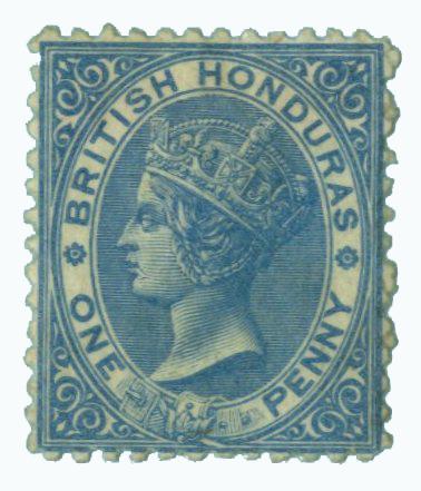 1872 British Honduras