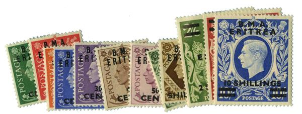 1948 British Offices - Eritrea