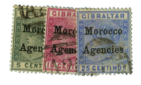 1899 British Offices - Morocco