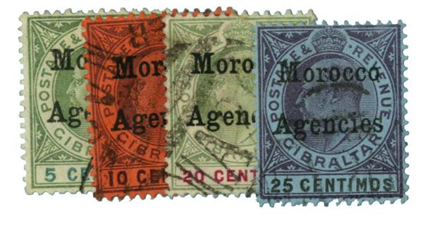 1903-05 British Offices - Morocco