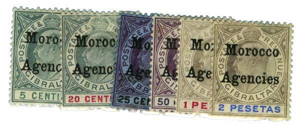 1905-06 British Offices - Morocco