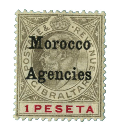 1905 British Offices - Morocco