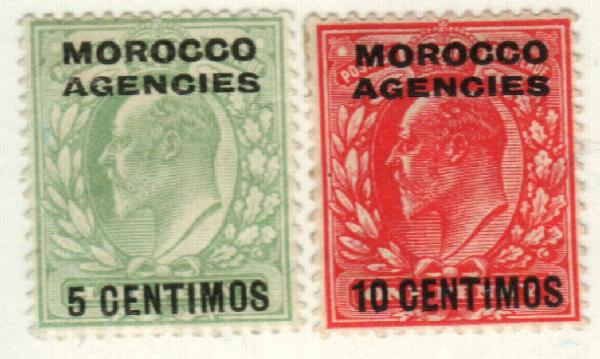 1907 British Offices - Morocco