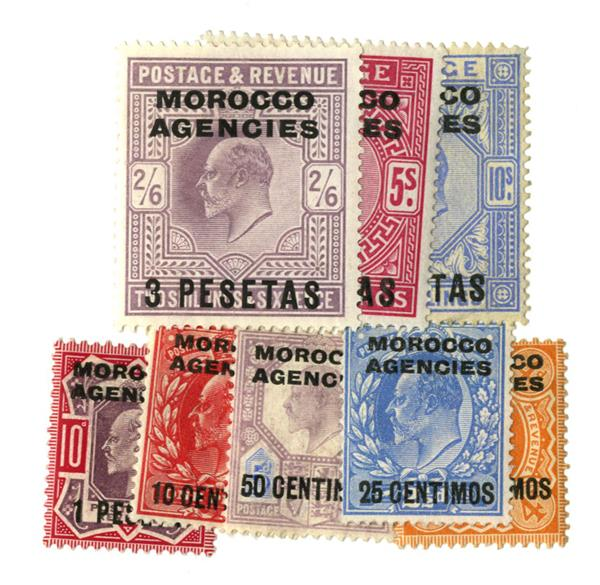 1907-10 British Offices - Morocco