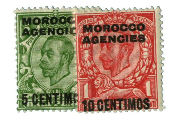 1912 British Offices - Morocco