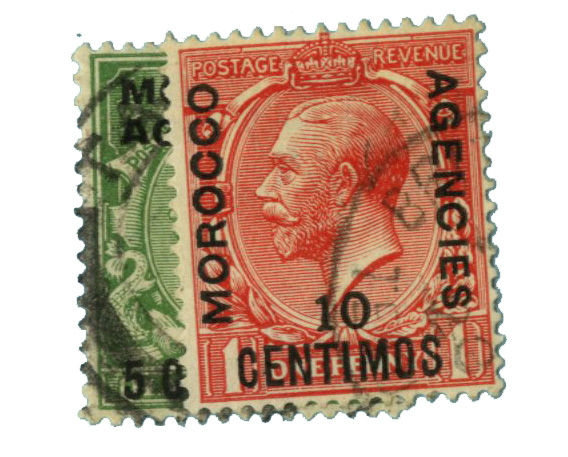 1914-18 British Offices - Morocco
