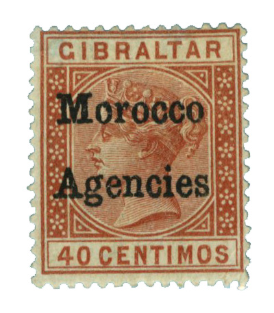 1898 British Offices - Morocco