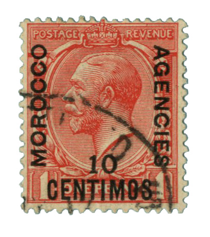 1914 British Offices - Morocco