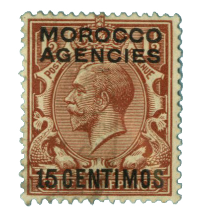 1915 British Offices - Morocco