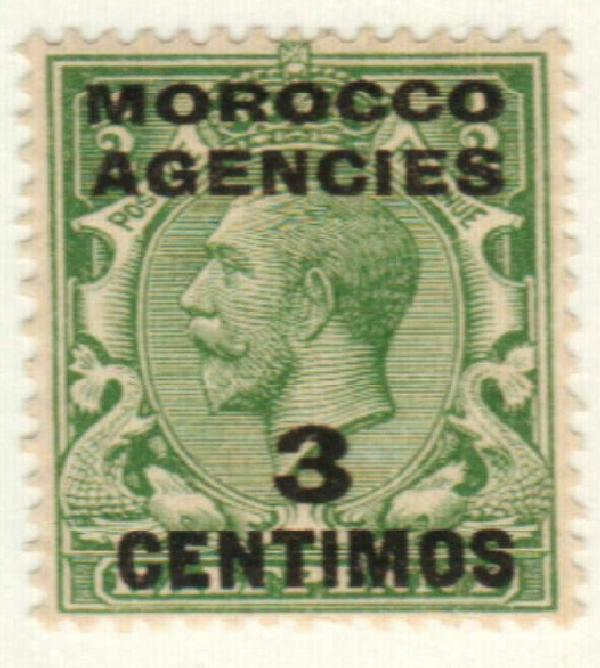 1917 British Offices - Morocco