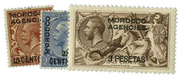 1926 British Offices - Morocco