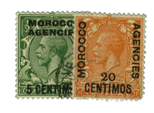 1931 British Offices - Morocco