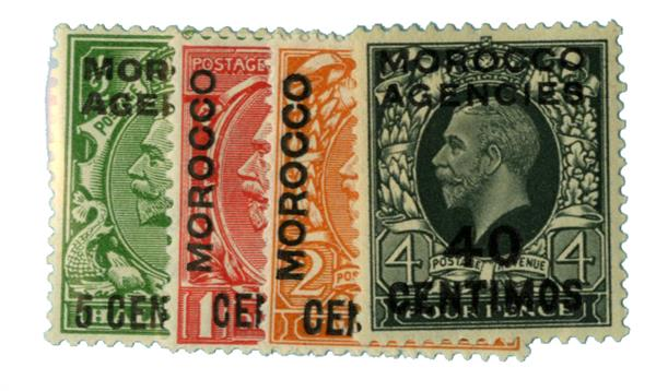 1929-31 British Offices - Morocco