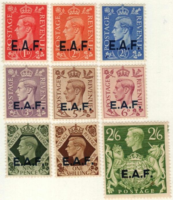 1943 British Offices - Somaliland