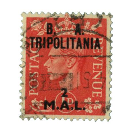 1948 British Offices - Tripolitania