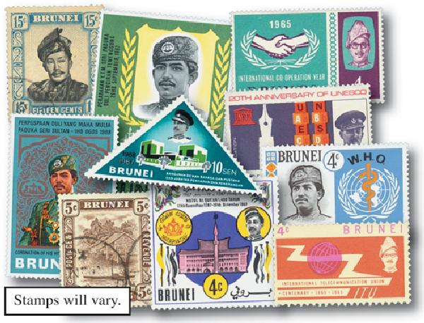Brunei, set of 25