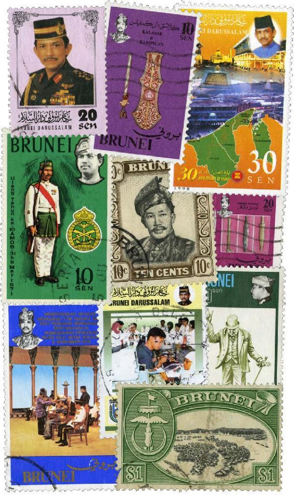 Brunei, 50v
