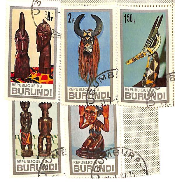 1967 Burundi
