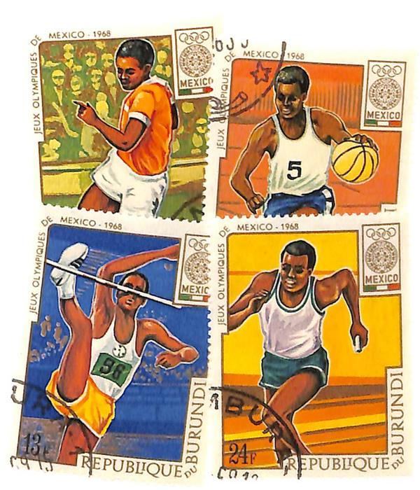 1968 Burundi