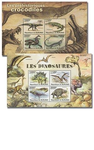 2011 Dinosaurs 2 Sh/4