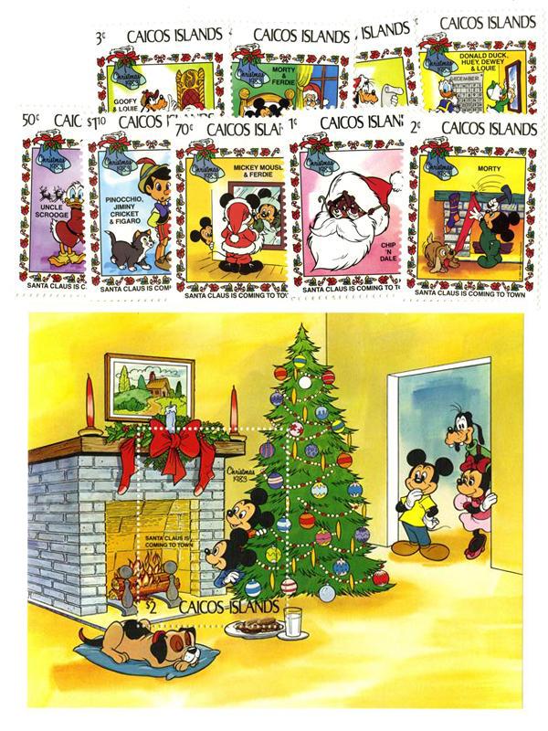 Caicos Islands 1983 Santa Claus