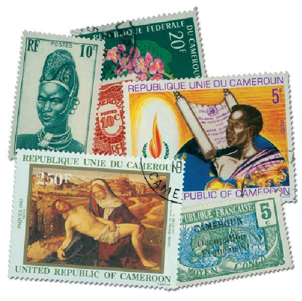 Cameroun, 25v