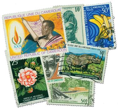 Cameroun, set of 50