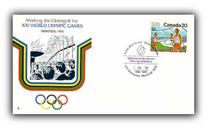 1976 XXI Olympic Closng Ceremony