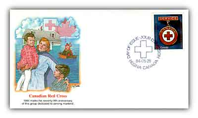 1984 32c Canadian Red Cross Society