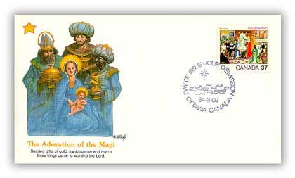 1984 37c Christmas - The Three Kings