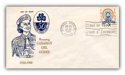 1960 5c Canada Girl Guides