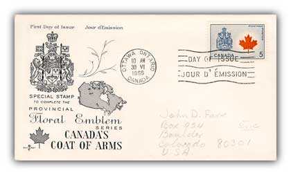 1966 5c Canada/Maple Leaf
