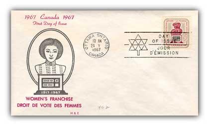 1967 5c Womens Suffrage