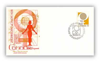 1975 8c International Womens Year