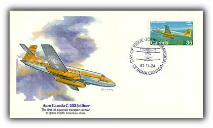 1981 35c Avro Canada C-102