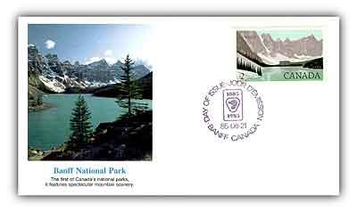 1985 $2.00 Banff National Park FDC