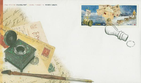 Rural Mail Delivery First Day Cover, Limited Edition, Canada