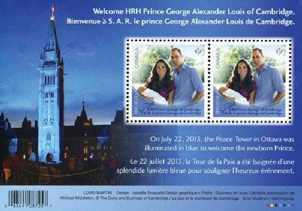 2013 Canada Will & Kate w Prince George