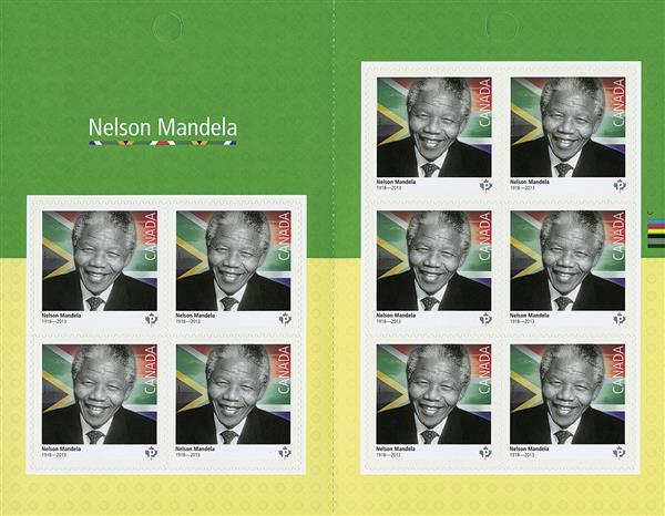 2015 P Nelson Mandela booklet of 10