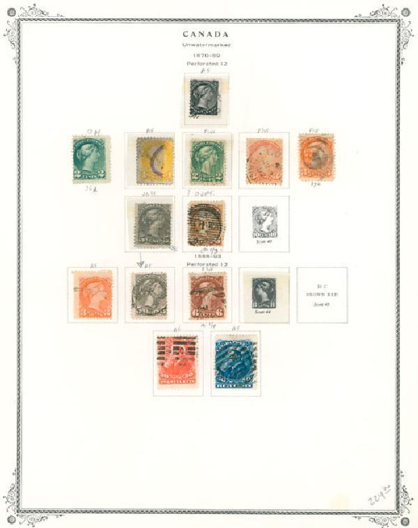 1859-1991 Canada